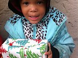 Every child deserves to know they are loved. A wrapped Christmas gift helps to show that.